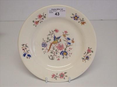 Lot 43-Furness Bermuda Line: a side plate