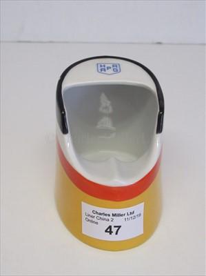Lot 47-HAPAG Line: a novelty funnel shaped ash tray