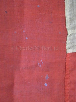 Lot 88 - A UNION FLAG FROM IRON PADDLE SLOOP H.M.S. OBERON, CIRCA 1866