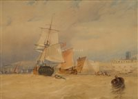 Lot 10-ATTRIBUTED TO Clarkson Stanfield (British,...