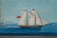 Lot 11-Neapolitan SCHOOL, 19TH CENTURY<br/>The schooner...