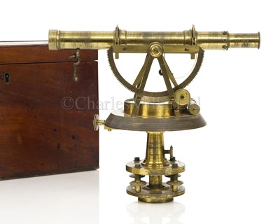 Lot 302 - AN EARLY 19TH CENTURY THEODOLITE BY JOHN CORLESS, LONDON, CIRCA 1815