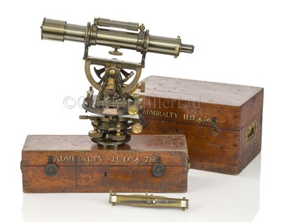 Lot 308 - A THEODOLITE BY TROUGHTON & SIMMS, LONDON, CIRCA 1920