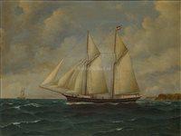 Lot 31-JULIUS GREGERSEN, (GERMAN, 1860-1953)<br/>Study of...
