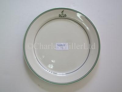 Lot 7 - A Bibby Line plate