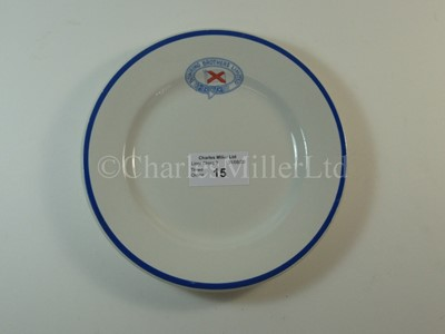 Lot 15-A Bowring Brothers Limited side plate