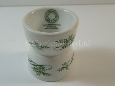 Lot 16-A British & Commonwealth Line egg cup