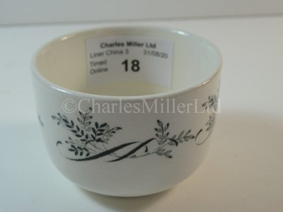 Lot 18-A British & Commonwealth Line slop bowl
