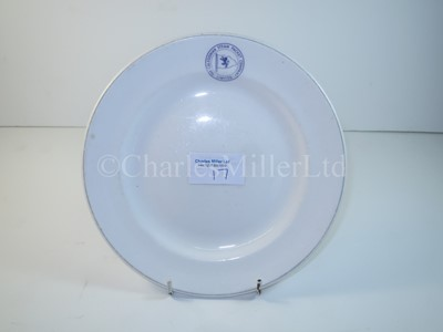 Lot 17 - A Caledonian Steam Packet Company side plate