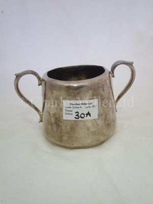 Lot 30A - A Cunard Steam Ship Company Limited plated sugar bowl