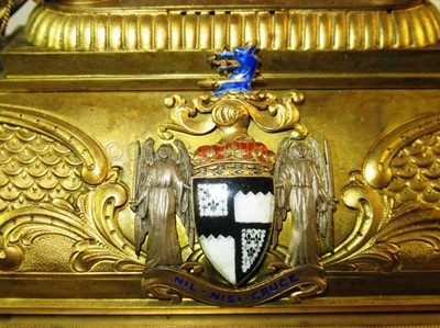 Lot 189 - AN HISTORICALLY INTERESTING FREEDOM CASKET PRESENTED TO ADMIRAL LORD CHARLES BERESFORD, 1912