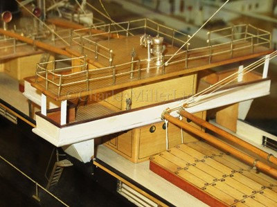 Lot 72 - A BUILDER'S MODEL OF THE TURRET DECK STEAMSHIP GOOD HOPE BUILT BY DOXFORD & SONS FOR G.T. SYMONS & CO., LONDON, 1903
