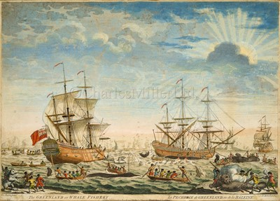Lot 35-AFTER THOMAS BASTON (BRITISH, Fl.1699-1730): The Greenland Whale Fishery