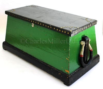 Lot 13-A 19TH CENTURY SAILOR'S SEA CHEST