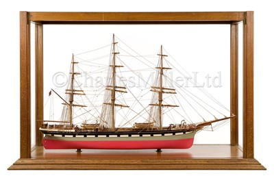 Lot 13 - AN EXCEPTIONAL 1:64 SCALE STATIC DISPLAY MODEL OF THE CLIPPER LOCH ETIVE, BUILT AT GLASGOW, 1877
