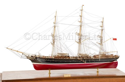 Lot 11 - A DETAILED STATIC DISPLAY MODEL OF THE CLIPPER SHIP CORIOLANUS