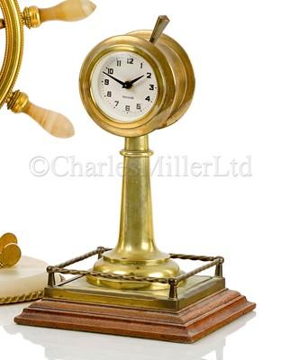 Lot 42 - A NOVELTY DESK CLOCK, CIRCA 1930