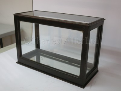 Lot 7 - A 19TH CENTURY SHIP MODEL DISPLAY CASE