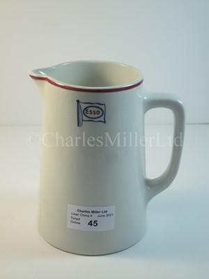 Lot 45 - An Esso Petroleum Co Ltd. jug. 4¾in. (from handle to spout) x 5½in. (12 x 14cm.)