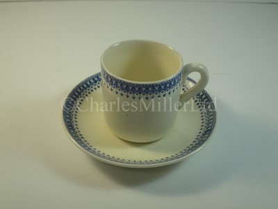 Lot 9 - A Blue Funnel Line tea cup and saucer