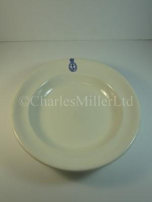 Lot 3 - An Admiralty soup bowl