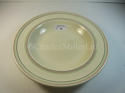 Lot 39 - An Elder Dempster Lines soup bowl