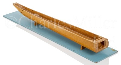 Lot 2 - A 1970S SCALE MODEL FOR A DUG-OUT CANOE