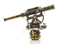 Lot 253 - A FINE THEODOLITE BY TROUGHTON & SIMMS, LONDON, CIRCA 1880