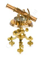 Lot 254 - AN EXPEDITION THEODOLITE BY W. S. JONES, LONDON, CIRCA 1800