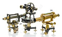 Lot 257 - A THEODOLITE BY G. GERLACH, WARSAW, CIRCA 1900, and a level by Eichler