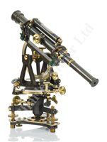 Lot 256 - A FINE THEODOLITE BY TROUGHTON & SIMMS, LONDON, CIRCA 1875