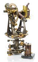 Lot 231 - A FINE UNIVERSAL THEODOLITE BY TROUGHTON & SIMMS LONDON, CIRCA 1900
