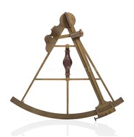 Lot 42 - GEORGE VANCOUVER'S SEXTANT<br/><br/>A 14½IN. RADIUS...