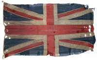 Lot 47 - A NAVAL UNION FLAG, PROBABLY FROM H.M.S....