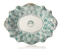 Lot 143 - A CALEDONIA-PATTERN TRANSFER WARE DISH FOR THE...