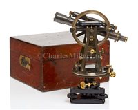 Lot 241 - A STANDARD MICROMETER THEODOLITE BY STANLEY,...