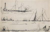 Lot 33 - CHARLES DIXON (BRITISH, 1872-1934)<br/>The 1901...