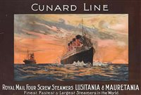 Lot 157 - A FINE CHROMOLITHOGRAHIC TRAVEL AGENT'S POSTER...