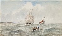 Lot 7 - E. ADAMS (ENGLISH, 19TH-CENTURY)<br/>Shipping off...