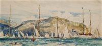 Lot 34 - CHARLES DIXON (BRITISH, 1872-1934)<br/>1902...