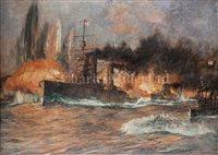 Lot 37 - CHARLES DIXON (BRITISH, 1872-1934)<br/>Admiral...