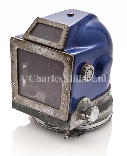 Lot 154-A FREE FLOW DIVING HELMET BY SWINDELL, CIRCA...