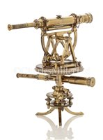 Lot 213 - A RARE AND FINE DOUBLE THEODOLITE BY MATTHEW...