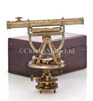 Lot 214 - A THEODOLITE BY GILKERSON & CO. LONDON CIRCA...