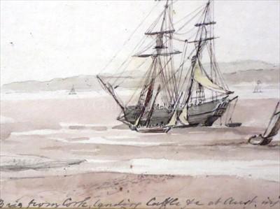 Lot 1 - ENGLISH NAVAL SCHOOL, CIRCA 1821<br/>Brig from...