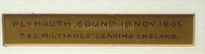 Lot 8 - STANLEY MYLIUS (BRITISH,...