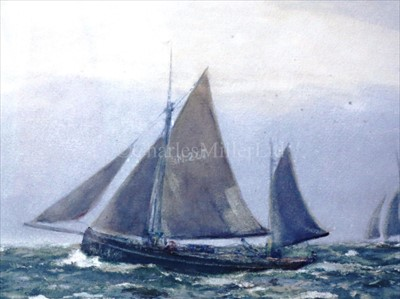 Lot 12 - JAMES AITKEN (BRITISH, FL.1880-1935) <br/>Manx...