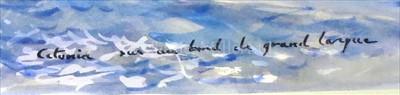 """Lot 25 - δ GUY L'HOSTIS (FRENCH, 1945- )<br/>""""RANGER"""" à..."""