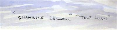 "Lot 29 - δ GUY L'HOSTIS (FRENCH, 1945- )<br/>""Shamrock 23..."