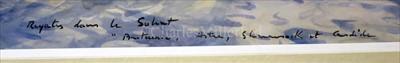 Lot 31 - δ GUY L'HOSTIS (FRENCH, 1945- )<br/>Régate dans le...
